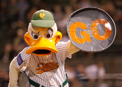 QuckerJack Says Let's Go Ducks!