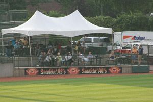 Sponosr the Long Island Ducks in Various Seating Areas