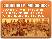Community Programs Sponsorship Opportunities with the Long Island Ducks