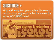 Signage Sponsorship Opportunities with the Long Island Ducks