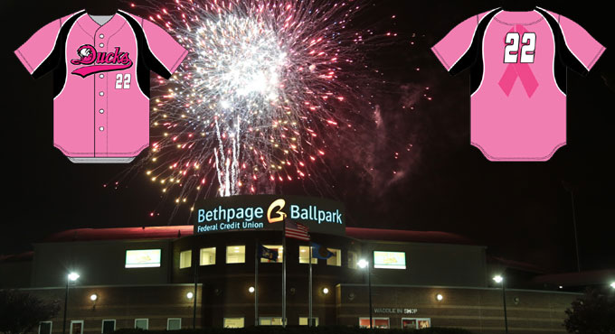 GAME TONIGHT: BREAST CANCER AWARENESS NIGHT WITH FIREWORKS!