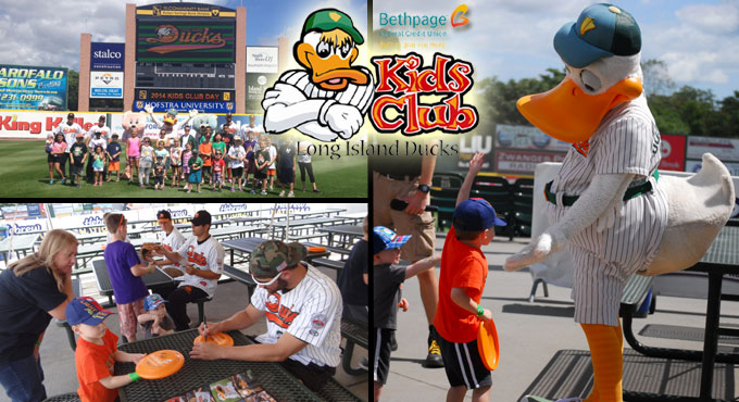 DUCKS/BETHPAGE KIDS CLUB MEMBERSHIPS AVAILABLE NOW
