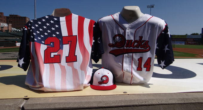 PATRIOTIC JERSEY AUCTION ENDS SATURDAY AUGUST 1 -  PLACE YOUR BID BEFORE IT'S OVER!