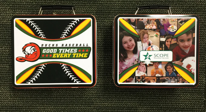 GAME TONIGHT: BACK TO SCHOOL LUNCH BOXES AND THIRSTY THURSDAY!