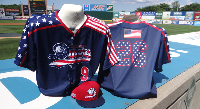 PATRIOTIC JERSEY AUCTION ENDS TONIGHT