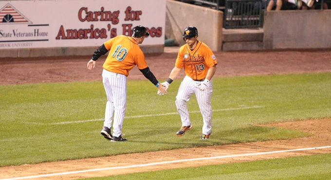 LATE RALLY LIFTS LANCASTER OVER DUCKS IN SERIES OPENER