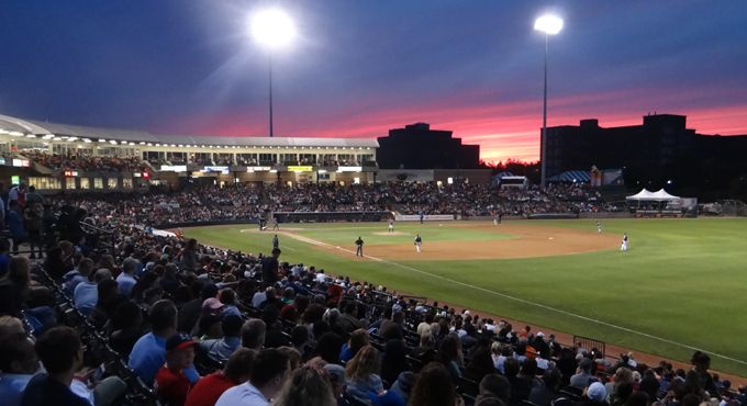 ATLANTIC LEAGUE BASEBALL A HOME RUN FOR FANS
