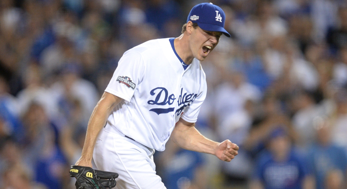 HILL'S FIRST POSTSEASON WIN GIVES DODGERS NLCS LEAD