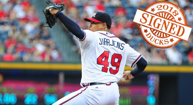 DUCKS SIGN FORMER MLB ALL-STAR JURRJENS