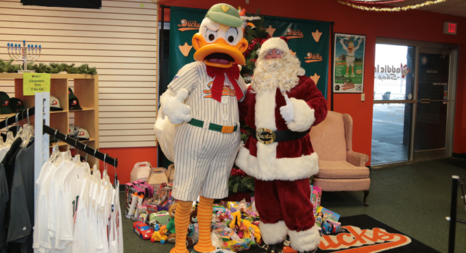 HOLIDAY SHOPPING/TOY DRIVE BEGIN DECEMBER 5