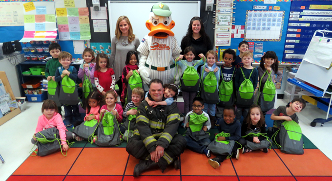 FIREFIGHTING FATHER CHOSEN AS HERO BY ESSAY CONTEST WINNER