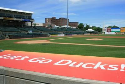 Long Island Ducks Baseball Affordable Family Fun On Long